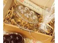 RE Mulled Wine Jelly Gift Box Set (Mould, Recipe, Cloves, Cinnamon Stick) – New