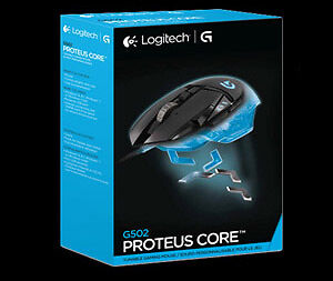 BNIB Logitech G502 Wired Optical Gaming Mouse (910-004615)
