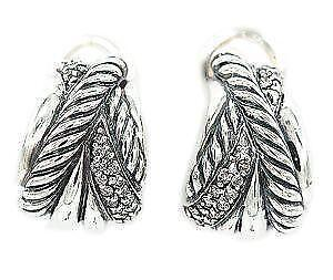 David Yurman Crossover Earrings