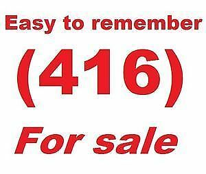VIP 416 / 905 /647 Toronto Numbers for SALE