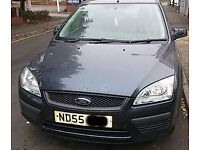 Ford Focus Bonnet In Grey Breaking For Parts (2005)