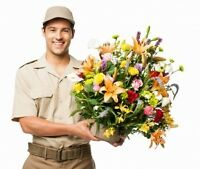Full-time or Part-time Flower delivery drivers - HRM
