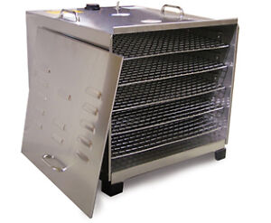 NEW!!! STAINLESS STEEL FOOD DEHYDRATOR with 5 Rack Capacity