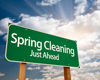 Spring clean up's!!!
