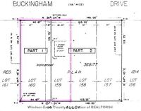 Just Listed Vacant Lot on Buckingham