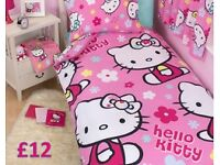 Hello Kitty Duvet