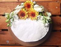 Homemade Lemon Layer Cake with Lemon Curd & Buttercream $40 OBO!