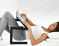 2 for 1 Portable Laptop Stand for Desk or Bed