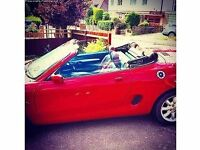 MGF convertible 1.8i, great condition. £1100