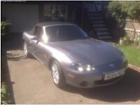 Mazda MX-5 1.8 Arctic Limited Edition 2dr 2004, Convertible, 95,000 miles, Heated leather seats,