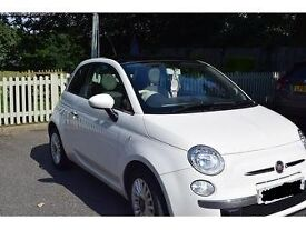 FIAT 500 - LOUNGE - 1.2L - IDEAL FOR FIRST TIME DRIVERS - WHITE & RED INTERIOR - BLUETOOTH