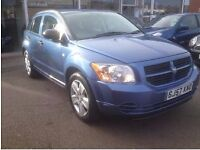 Fantastic Value 2007 Dodge Caliber 1.8 SXT 77000 Miles April 2018 MOT Leather Interior HPI Clear