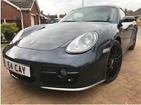 Porsche Caymen S, 3.4, BOSE sound system, Private Plate, Remus Exhaust, Full leather interior