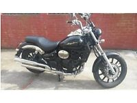 motorcycle Daelim 250 Daystar 2015 (BLK) only 600 miles on the clock
