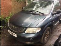 CHRYSLER GRAND VOYAGER 3.3 Limited Auto (blue) 2001