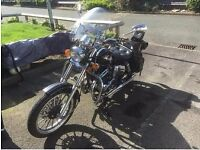 AJS DD Regal Raptor 125cc with lots of EXTRAS!