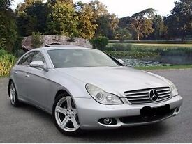 2006 Mercedes CLS 350 Auto Coupe. Silver