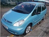 CITROEN XSARA PICASSO 1.6 DESIRE 2 12 MONTHS MOT TIMING BELT DONE