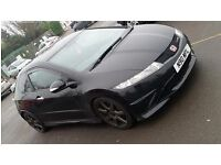 Honda Civic Type R, 2009, black, 49000 miles, full service history, excellent condition