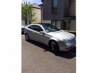 Mercedes-Benz C Class 1.8 C200 Kompressor SE 2dr with PANORAMIC SUNROOF & Tinted Windows