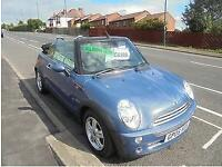 MINI CONVERTIBLE 1.6 COOPER 2DR...CONVERTABLE, 2005 (05 PLATE).