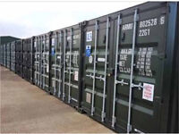 Self storage containers to rent secure 24/7 site from £25 a week