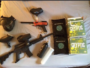 Paintball marker (great deal/Package)