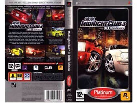 Midnight Club: DUB Edition - PSP GAME (Delivery 📦)