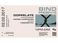 Bind Launch Night with Doppelate and Daniel Hardaker