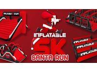 INFLATABLE 5K SANTA RUN - BRIGHTON