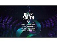 Deep South Festival Launch Party #1: Burlesque Rave