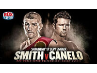 LIAM SMITH V CANELO ALVAREZ