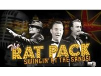 RAT PACK - SWINGIN' AT THE SANDS AT GROSVENOR CASINO READING SOUTH