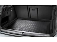 Audi Q3 genuine Audi rubber boot liner/tray and Travall guard/luggage divider for sale