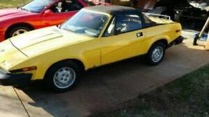 Wanted: 1980 Triumph Tr7