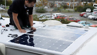 Solar Panel Installation Motorhomes/Trailers