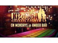 Kizomba Monday - Amber Bar - Kizomba Dance Class & Social on June 05, 2017