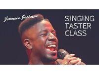 Singing Workshop hosted by Jermain Jackman, Voice UK Winner