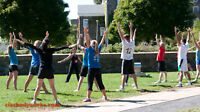YOGA with Cia! Summer Yoga Class @ St. Andrew's on Coburg Rd.