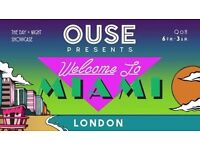 OUSE presents: Welcome to Miami | London