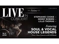 Soul & Vocal House Legends - Lillo Thomas, Stephanie Cooke, Kenny Bobien
