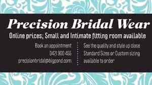 Precision Bridal Wear. Quality Wedding and Deb Gowns. All sizes Sunshine North Brimbank Area Preview