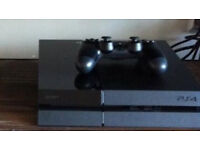PS4 Console with Sony Controller and all leads Free Fortnite