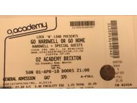 Hardwell Tickets for London O2 Academy Brixton on Sunday 1st April 2018