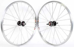 WHEEL SET SUN 14A BMX 20 x 1 1/8 CASSETTE 3/8 SEAL W/ 12T COG & LOCK RING