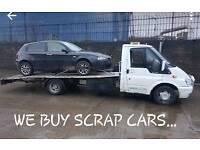 SCRAP CARS WANTED 07757961725