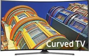 "SPRING SALE - SAMSUNG 55"" CURVED 4K UHD SMART TV, 1 YEAR WARRANTY - OPENBOX SUNRIDGE"