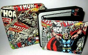 thor colletable tin with wallet