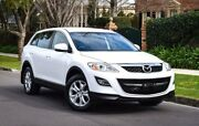2010 Mazda CX-9 TB10A3 MY10 Classic White 6 Speed Sports Automatic Wagon Medindie Walkerville Area Preview