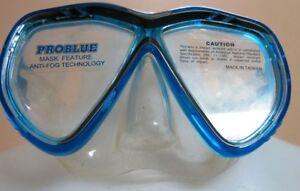 NEW ProBlue Blue Tiara II Mask Spearfishing Snorkel Scuba Dive Salisbury Brisbane South West Preview